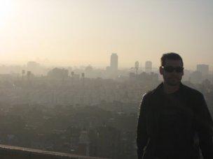 Brandon Scott in North Africa